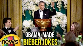 Obama and Justin Trudeau Made Bieber Jokes at Canadian Love Fest | Mango News