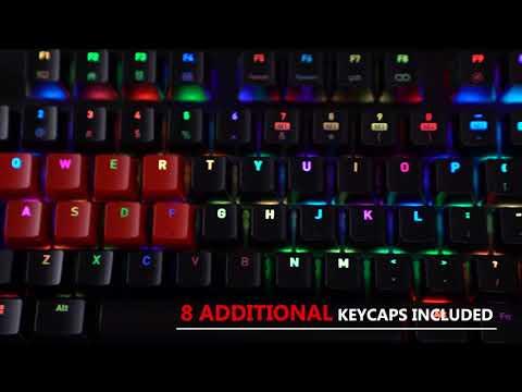 Tt eSPORTS Neptune Elite RGB Blue Gaming Keyboard