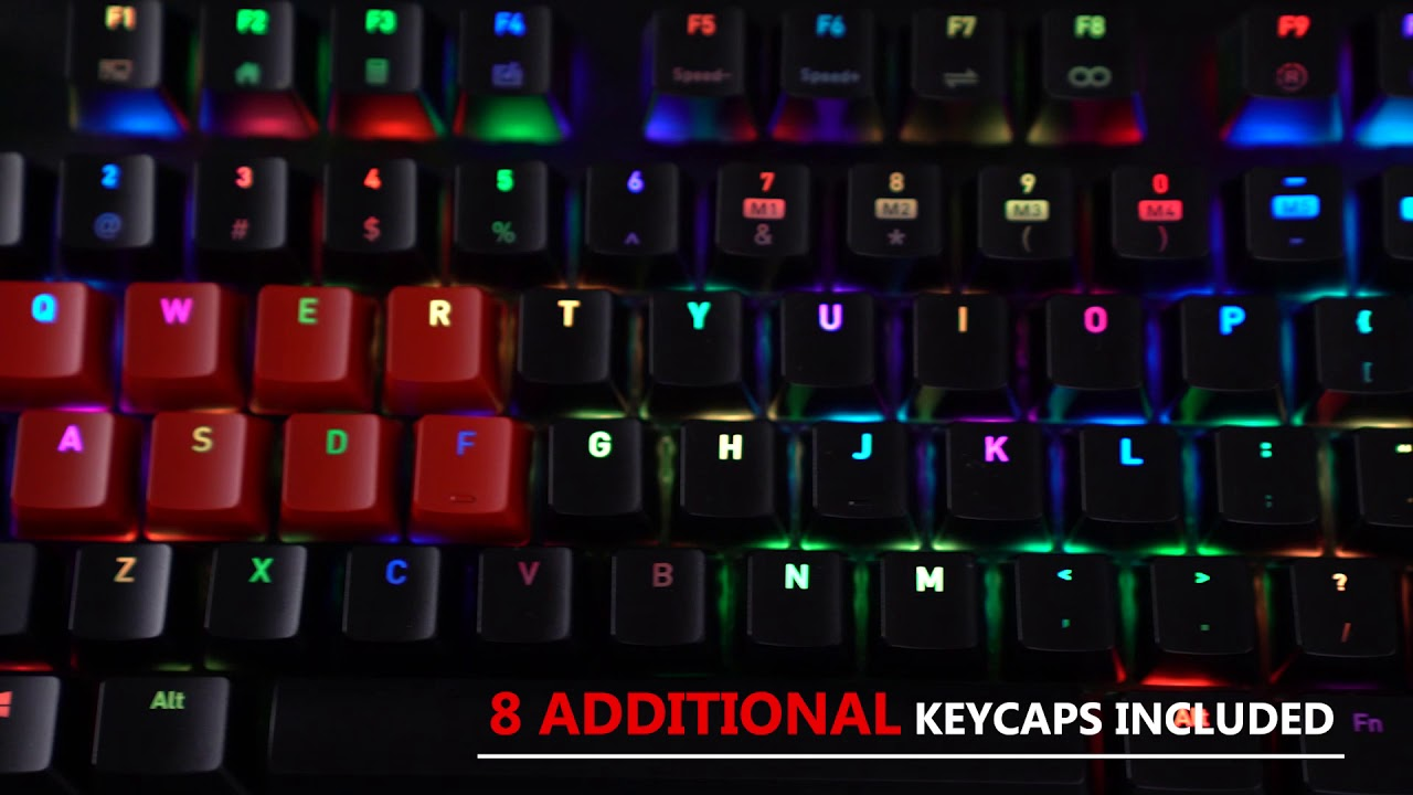 d3b6316a0e4 Tt eSPORTS Neptune Elite RGB Blue Gaming Keyboard - YouTube