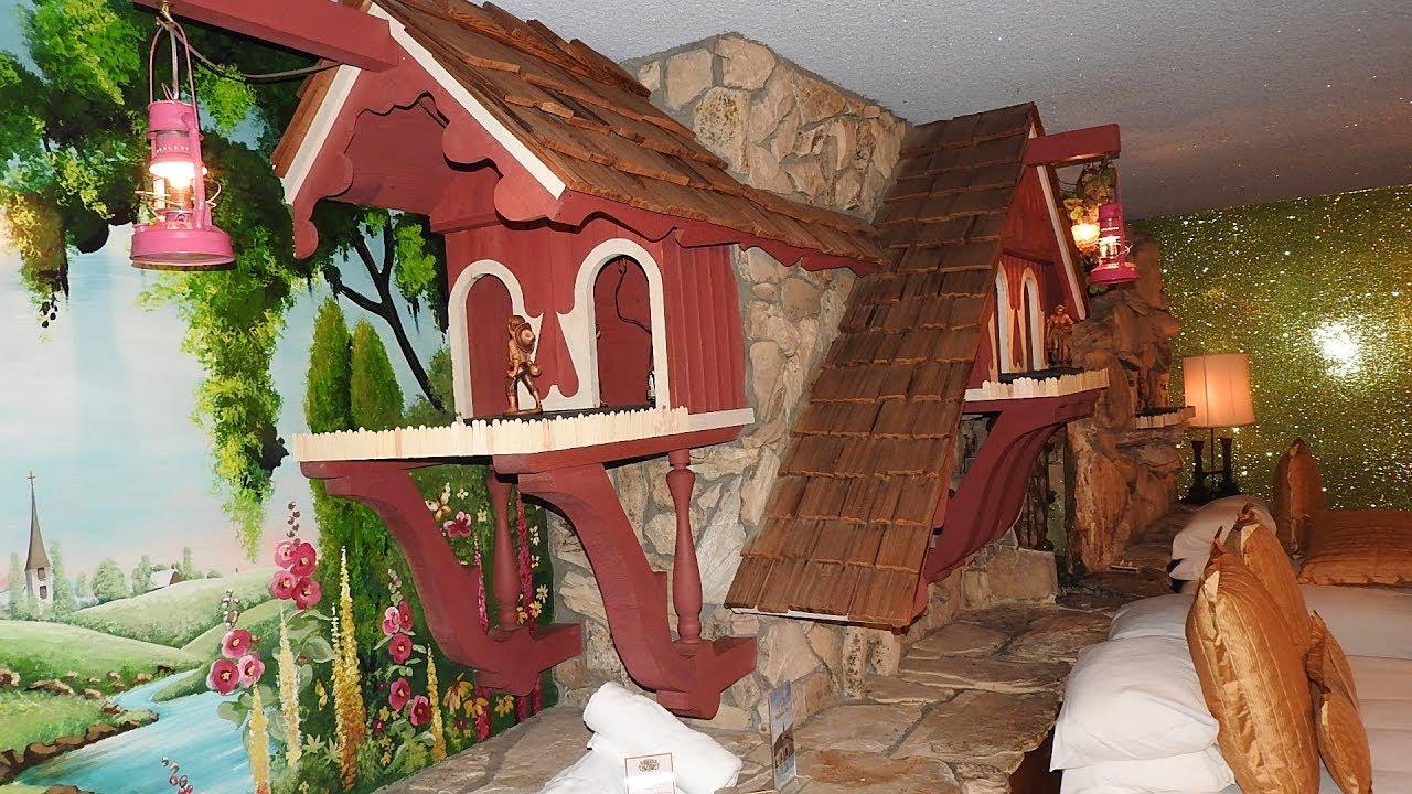 Old Mill Room Madonna Inn San Luis Obispo Calif Youtube