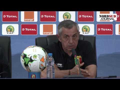 Presse conference match Ghana Mali