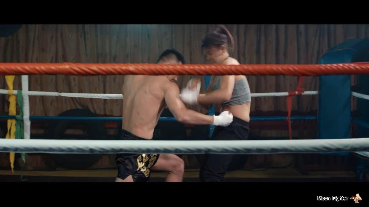 Male Vs Female Boxing Mixed Fight Scene Part 1 Man Won -7085