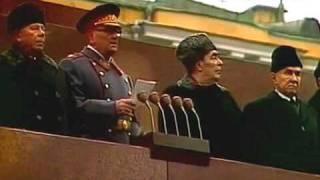 7 ноября 1975г. Москва. Красная площадь. Военный парад.
