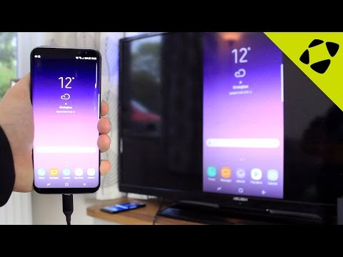 Galaxy S8 / S8 Plus: How to Connect to HDTV (Screen Mirroring Guide)
