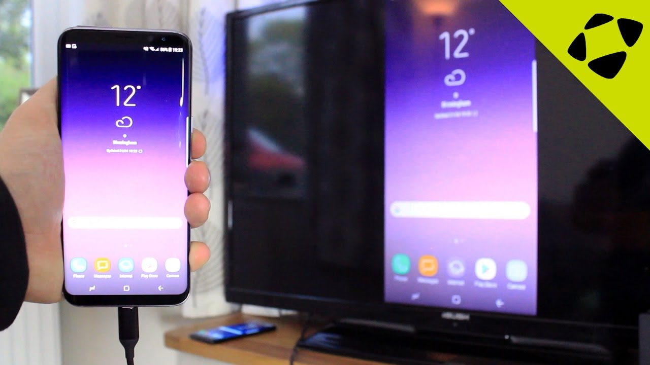 How to connect your Galaxy S8 to your TV | Mobile Fun Blog