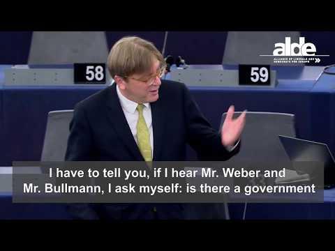 Guy Verhofstadt plenary speech on preparation of EU Council, 12 June 2018