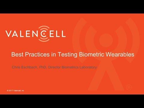 Webinar: Best Practices in Testing Biometric Wearables