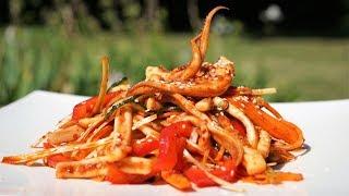 Video Korean Spicy Squid Salad - Morgane Recipes download MP3, 3GP, MP4, WEBM, AVI, FLV Oktober 2018