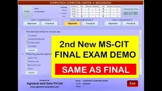 MS-CIT Latest final exam demo 2 - By Computech