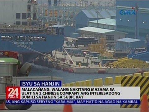 Malacañang, walang nakitang masama sa ulat na 2 chinese company ang interesadong bumili sa Hanjin