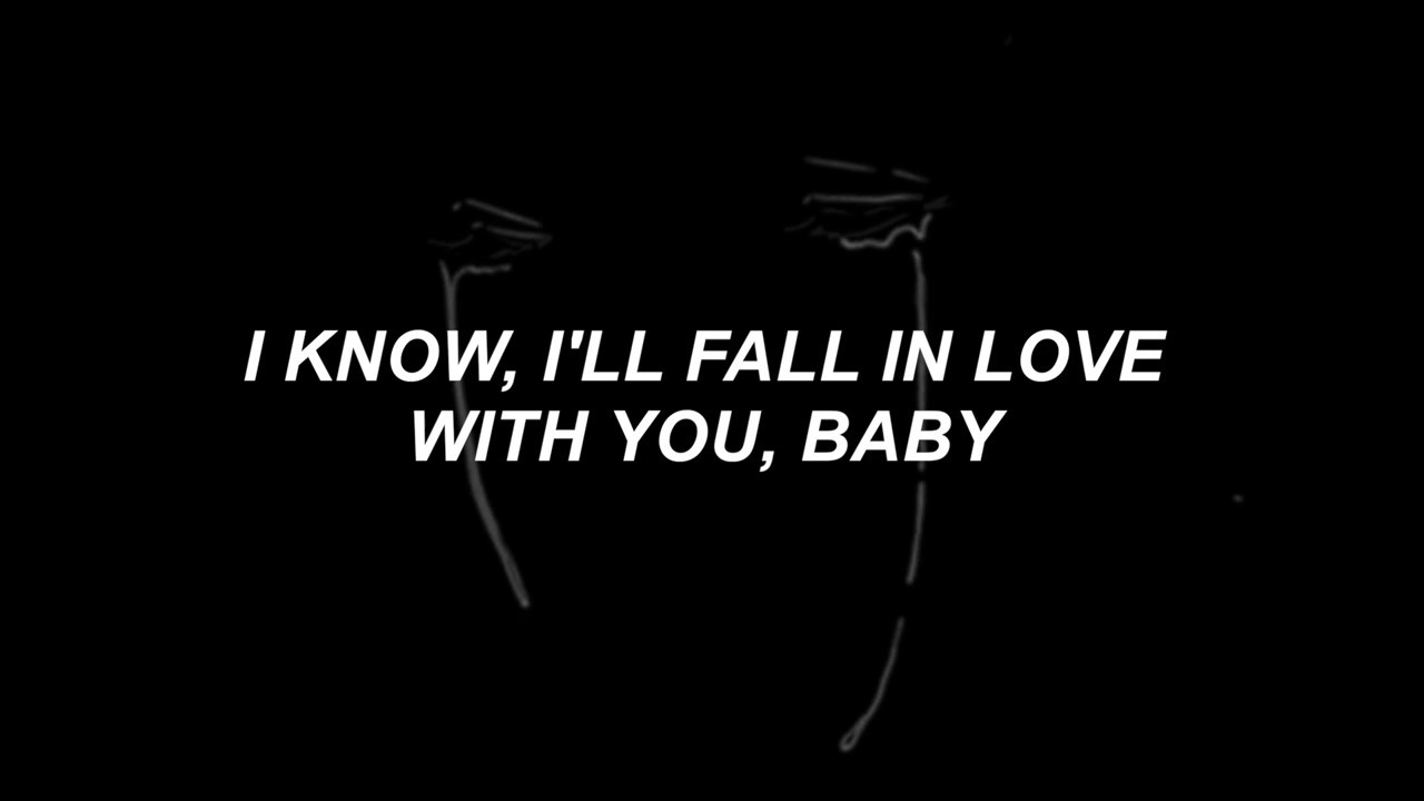 Free Live Fall Wallpaper Crybaby The Neighbourhood Lyrics Youtube