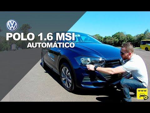 VW Polo 1.6 MSI Automático em detalhes