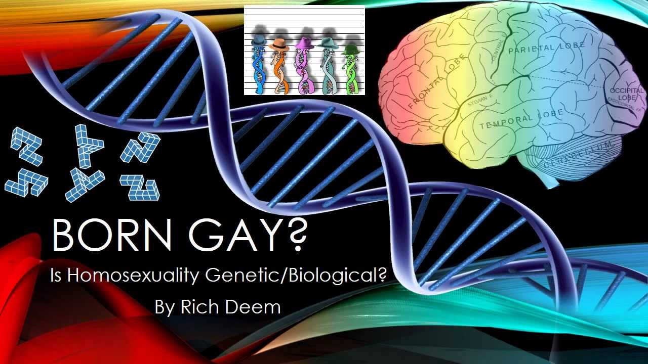 Homosexuality is not biologically based