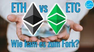 Ethereum vs Ethereum Classic: Wie kam es zum ETC Fork?