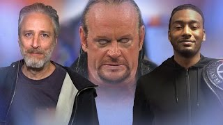 WWE Superstars, celebrities and pro athletes sing Undertaker's entrance theme
