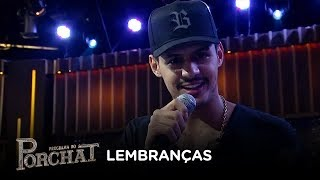 Hungria canta o sucesso Lembranças no palco do Porchat