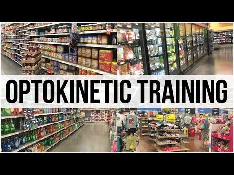 Grocery Store Walk Through Optokinetic Training (2:41)