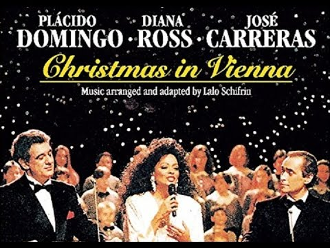 Diana Ross, Placido Domingo & Jose Carreras Live Christmas In Vienna,  Austria 1992