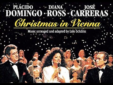 Diana Ross, Placido Domingo & Jose Carreras Live Christmas In Vienna,  Austria 1992