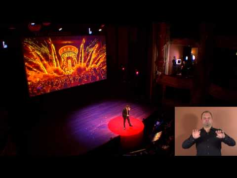 Celebrate life | Duncan Stutterheim | TEDxAmsterdam 2014 (SIGN LANGUAGE)