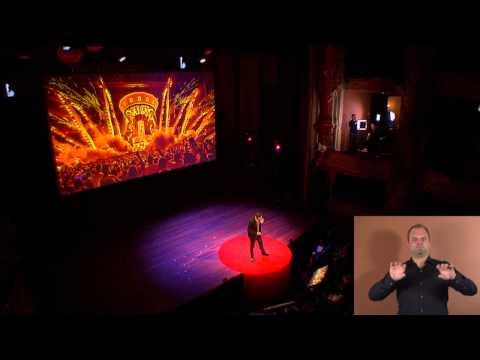 Celebrate life | Duncan Stutterheim | TEDxAmsterdam 2014 (SIGN LANGUAGE)