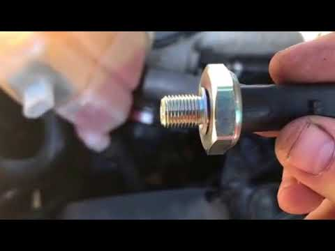 Replacing oil pressure sensor 2001-2005 VW Passat 18t - YouTube