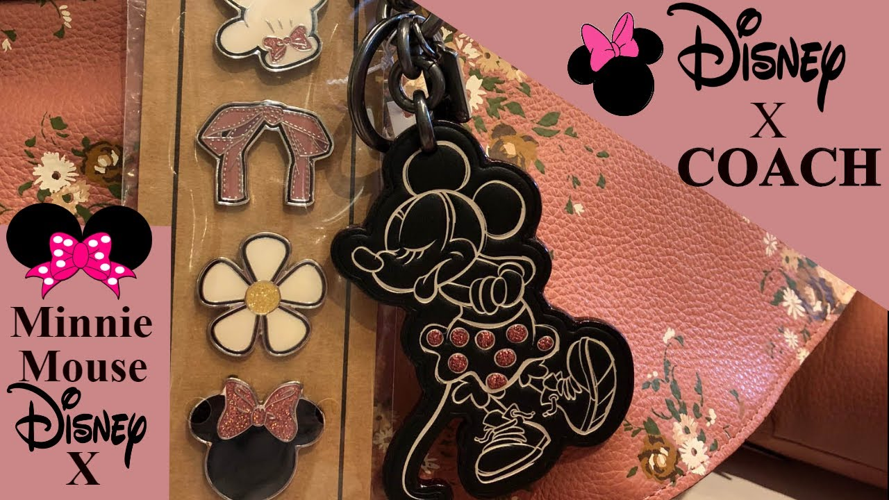 b7b4abe7 NEW!! DISNEY X Coach!! Minnie Mouse Collection!! Haul! Come Shop With Me!