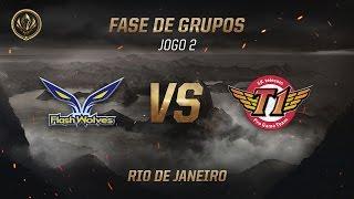 Flash Wolves x SKT T1 (Fase de Grupos - Jogo 3 - Dia 4) - MSI 2017