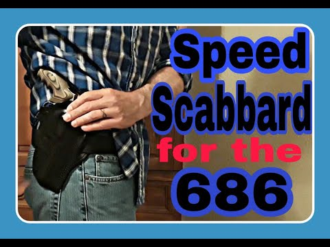 Speed scabbard for 686