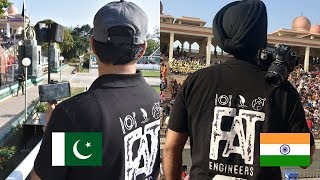 Travelling from Dubai to India & Pakistan to meet at Wagah Border