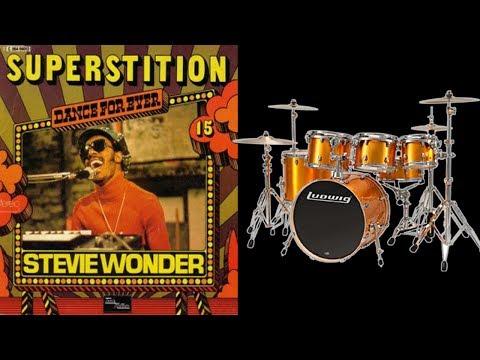 Superstition - Stevie Wonder - Backing Track for Drums