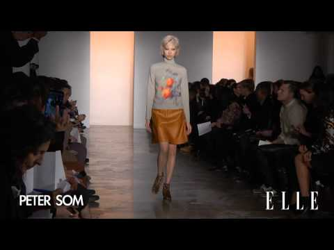 Peter Som - Fashion show - automne hiver 2014 2015