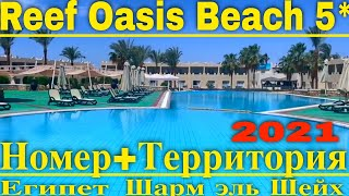 Reef Oasis Beach 5*-Стоит ли ехать? Обзор номера отеля и территории- Отели Египта 2021 Шарм Эль шейх