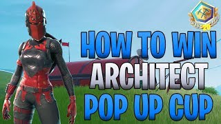 HOW TO WIN: How to get your First 20 Point Pin in the Pop Up Cup! Fortnite Battle Royale