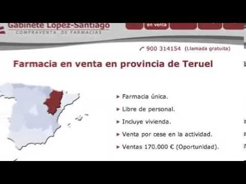 Farmacia en venta en Aragón (Matarraña)