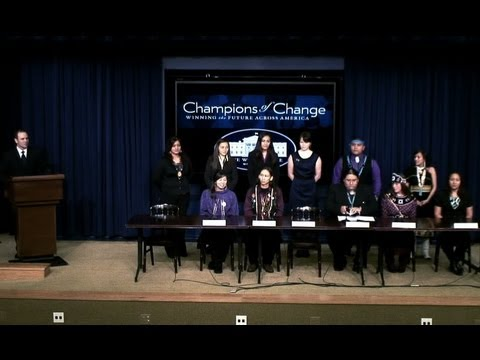 Champions of Change: Native American Youth Leaders