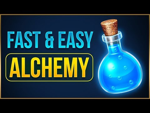 FAST & EASY ALCHEMY LEVELING In Kingdom Come: Deliverance