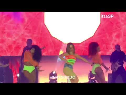 Sua Cara + Sin Miedo - Anitta AO VIVO no Farraial em São Paulo 24082019