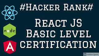 Hacker Rank React JS Certification Basics #04