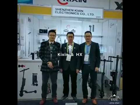 Kixin & HX hoverboard and E-scooter manufacturer in Shenzhen China