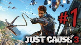 Just Cause 3 - Parte 1: Rico Rodriguez Explode Até a Mãe! [ PC 60FPS - Playthrough PT-BR ]