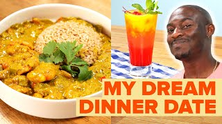 How To Make The Perfect Tropical Dinner For a Virtual Date Night • Tasty