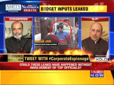 The Newshour Debate: Corporate Espionage - Delhi's Worst Kept Secret - Part 1 (20th Feb 2015)