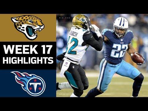 Jaguars vs. Titans | NFL Week 17 Game Highlights