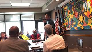 Community group honors Coach Keanon Lowe
