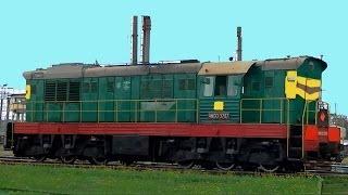 Собираем вагоны поезда. Развивающие видео для детей про технику и транспорт(На этом видео дети увидят локомотивы на железной дороге, вагоны, которые ездят сами. Цыстерны и цементовозы-..., 2014-07-10T16:33:06.000Z)