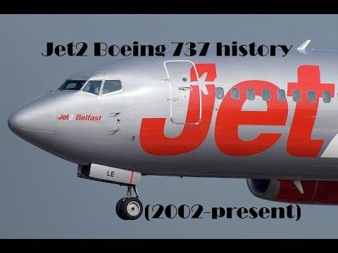 Fleet History - Jet2 Boeing 737 (2002-present)