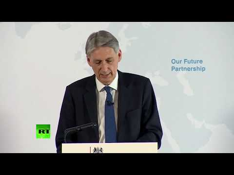 LIVE: Philip Hammond delivers speech on Brexit