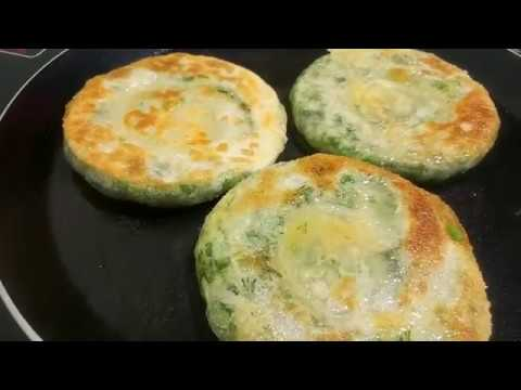 Puff cakes with herbs  (katlama)