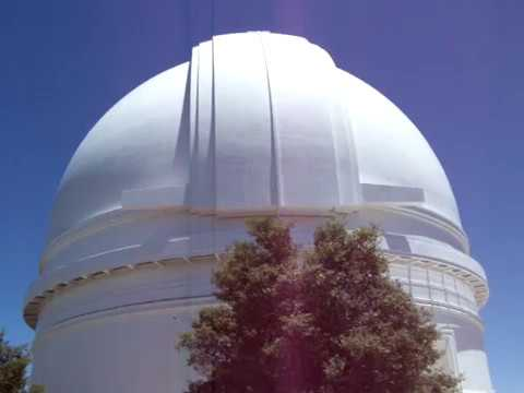 Palomar Observatory Dome Rotating